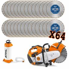 "12"" Contractors Blades With Stihl Saw Kit"