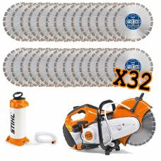 "12"" Multi-Purpose Blades With Stihl Saw Kit"